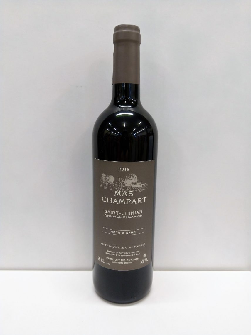 Saint-Chinian Mas Champart 2018